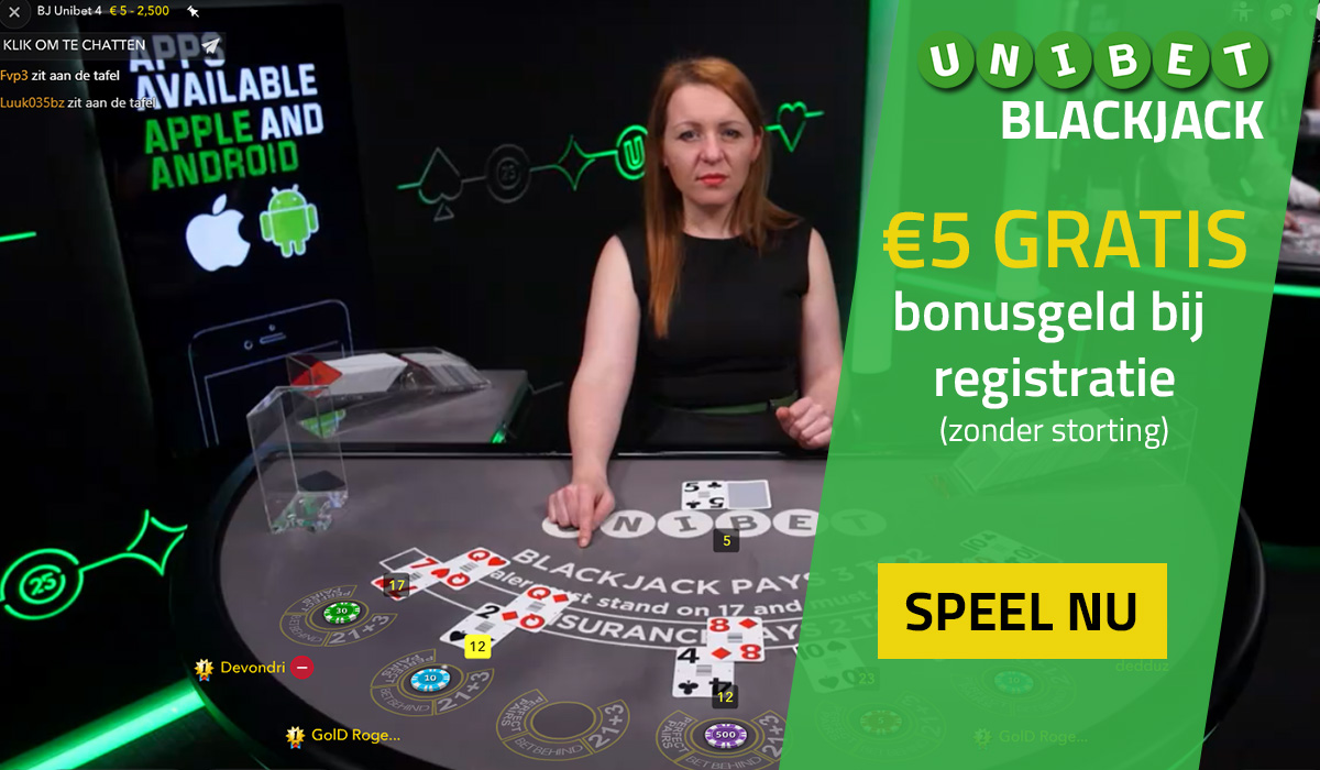 unibet blackjack